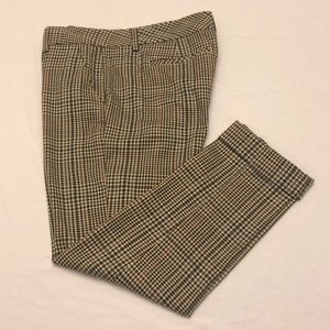 CAbi Plaid Hatter Crop #573